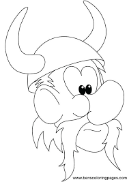Minnesota Vikings Coloring Pages For Print Out Jokingartcom