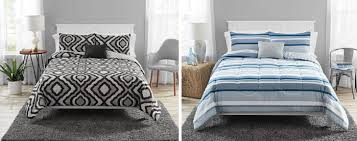 mainstays 8 pc comforter quilt set