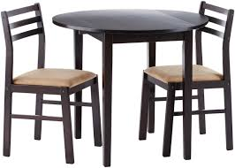 Small Kitchen Table And Chairs Set For 2 Wood Breakfast Nook Bistro