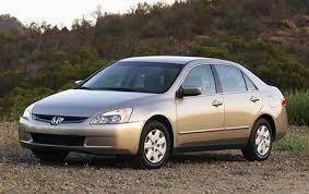 used 2005 honda accord sedan review