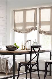 Kitchen Window Dressing These Are My Favorite Kind Of Roman Shades Simple And Elegant
