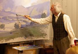 john phillip osborne master painter and senior instructor will give an oil painting demonstration at rai