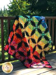 Pineapple Quilt Pattern Gorgeous Kaffe Pineapple Quilt Kit Video Demonstration Project