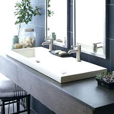 big bathroom sinks best trough sink ideas on double sinkdouble bathroom vanities for big size drop big bathroom sinks