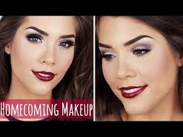 homeing or formal makeup tutorial fall autumn inspired