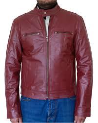 men s burdy er leather jacket dva