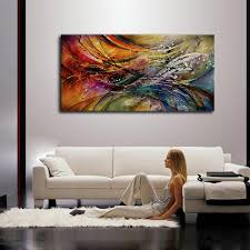 Modern Painting For Living Room Compare Prices On Modern Abstract Paintings Online Shopping Buy