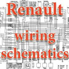 renault wiring diagrams schematics electric image is loading renault wiring diagrams schematics electric