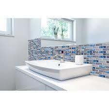 blue glass tile kitchen backsplash subway marble bathroom wall shower bathtub fireplace new design mosaic tiles