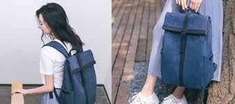 Обзор <b>рюкзака</b> для учебы <b>Xiaomi 90 Points</b> Grinder Oxford Casual