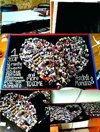diy picture collage ideas the heart shaped photo collage diy picture collage gift ideas