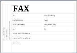 Sample Of Fax Cover Letters Fax Cover Letter Sample Resume Badak