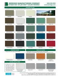 Almond Color Chart Berridge Color Chart Berridge Manufacturing Co