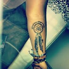 Dream Catcher Wrist Tattoos