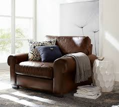 Nolan Bonded Leather Living Room Club Chair  Espresso  Threshold Leather Chairs Living Room