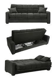 full size couch easy conversion to sofa sleeper storage area 2 pillows designed