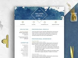 Modern Graphic Resume Template Modern Resume Template Word By Resume Templates Dribbble Dribbble