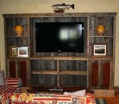 C Distressed Wood Entertainment Center Elegant Ideas  With Best Rustic Centers On Plans White