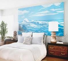 diy giant seascape wall art