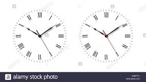 Watch Dial Design Template Vector Classic Simple Wall Clock Or Watch Dial With Roman