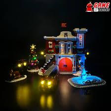 Lego Winter Village Lights Light Kit For Winter Village Fire Station 10263