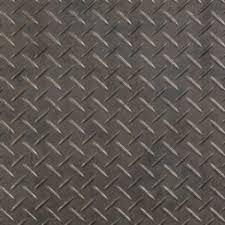 halo floors metal treadplate pewter tread plate