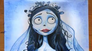 Speed <b>drawing</b> - Emily from <b>Corpse Bride</b> (Halloween <b>art</b> ...