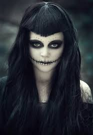 freaky and scary diy face paint ideas