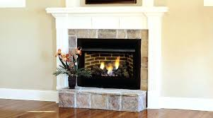 procom 18 in vent free dual fuel gas fireplace logs cherry surrounds compressed