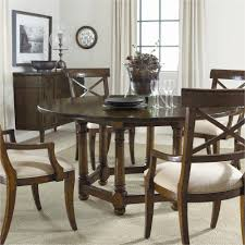 dark wood round dining table new 5 piece round dining