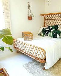 wicker bedroom furniture. Outstanding Wicker Bedroom Furniture F8246 Bed Frame Best Tropical Frames Ideas On