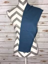 Tc2 Size Chart Details About Tc2 Lularoe Leggings Solid Slate Blue Rare Beautiful Nwt Tall Curvy 2
