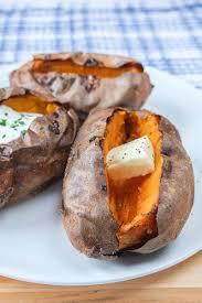 air fryer baked sweet potato simply