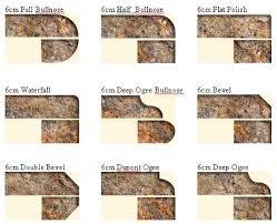 salmond granite edges granite countertop edges most popular