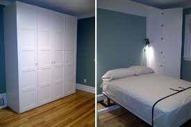 wall mount bed frame awesome 12 diy murphy bed projects for every bud