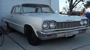 1964 Chevy Biscayne 2 door post stickshift | The H.A.M.B.