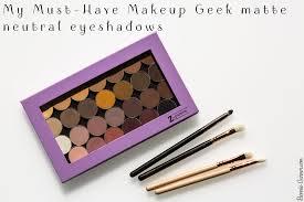 my must have makeup geek matte neutral eyeshadows