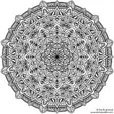 Small Picture Difficult Mandala Coloring Pages OnlineMandalaPrintable Coloring