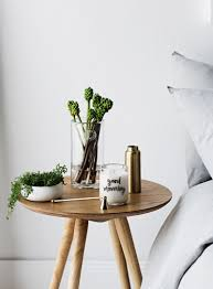 round bedside table ideas decor