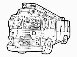 Free Printable Fire Truck Coloring Pages For Kids For Fire Truck