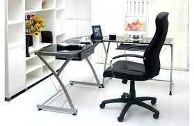 home office glass desk. Home Office Glass Desk Matteo Wood Leather Top
