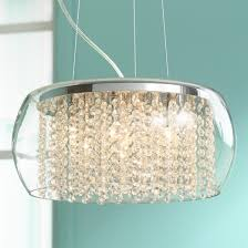 contemporary interior lights design with possini euro design chandelier wonderful possini euro crystal rainfall glass