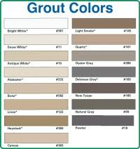 Bonsal Grout Color Chart Grout Stain Color Chart 25 Best Ideas About Grout