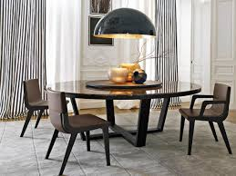 round marble dining table with lazy susan