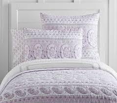 Keira Sateen Paisley Quilt, Full/queen, Lavender | *Bedding > Girl ... & Keira Sateen Paisley Quilt, Full/queen, Lavender Adamdwight.com