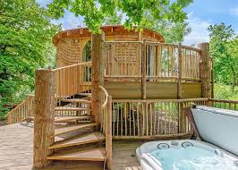 Treehouse Holiday Stay In A TreehouseFamily Treehouse Holidays Uk