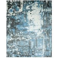 blue grey area rug crosier light sofia gray black