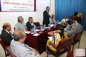 round table discussion ethical practices teachings followed by the local institutions in sri lanka