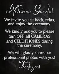 8x10 Instant Download Printable Wedding Sign Wedding Favor