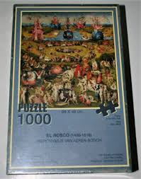 1000 educa the garden of earthly delights by bosch factory sealed